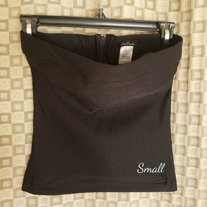 DNA Couture Strapless Fitted Crop Top Sm
